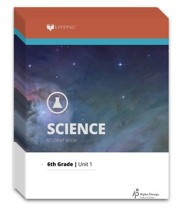 Lifepac Science, Grade 6, Workbook Set