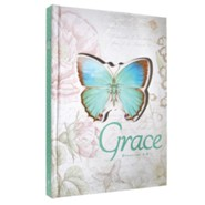 Grace, Butterfly Die-Cut Journal