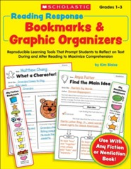 Reading Response Bookmarks & Graphic Organizers    -     By: Kimberly Blaise