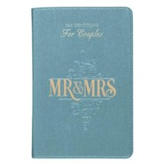 Mr. & Mrs. 366 Devotions for Couples faux leather