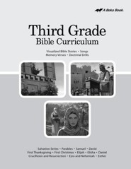 Abeka Grade 3 Bible Curriculum (Lesson Plans)