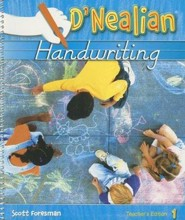 D'Nealian Handwriting Teacher Edition Grade 1 (2008 Edition)