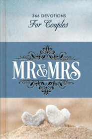 Mr. & Mrs. 365 Devotions for couples, hardcover