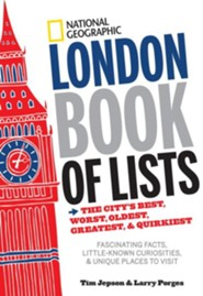 National Geographic London Book of Lists  -     By: Larry Porges