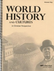 Abeka World History and Cultures in Christian Perspective  Answer Key