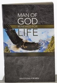 Man of God, Softcover Devotion Book