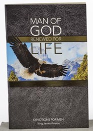 Man of God, Softcover Devotion Book, KJV