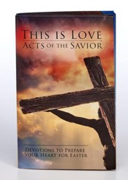 Acts of the Savior Softcover Devotion Book
