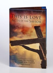 Acts of the Savior Softcover Devotion Book, KJV