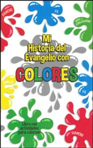 The Gospel Story By Colors Activity Book, Spanish