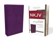 Imitation Leather Purple Red Letter