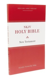 NKJV Holy Bible New Testament--softcover, multicolor