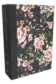 Hardcover Gray Floral