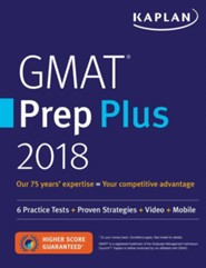 GMAT Premier 2018 with 6 Practice Tests: Online + Book + Videos + Mobile