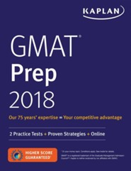 GMAT 2018 Strategies, Practice, and Review with 2 Practice Tests