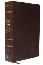 Premium Leather Brown Book Thumb Index