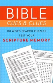 Bible Cues and Clues: 101 Word Search Puzzles Test Your Scripture Memory