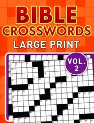 Bible Crosswords, Large Print Vol. 2