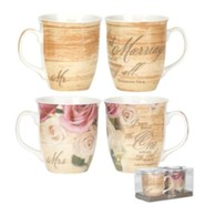 Marriage Mugs, Set of 2
