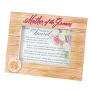 Mother of the Groom Photo Frame