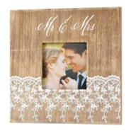 Mr. & Mrs. Photo Frame