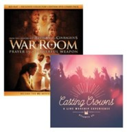 War Room, Blu-Ray + Exclusive Collector's Edition DVD + Casting Crowns Live Worship Experience