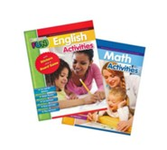 Preschool Fun - English & Math Activities Bundle