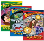 The Adventures of Ryan Defrates Volumes 1-3, 3-DVD Set