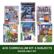 ACE PACEs Grade 3 6-Subject Curriculum Kit