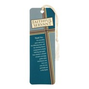Faithful Servant Bookmark with Tassel