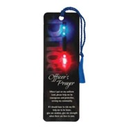 Police Officer's Prayer Bookmark with Tassel