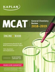 MCAT General Chemistry Review: Online + Book
