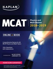 MCAT Physics and Math Review: Online + Book