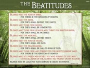 Catholic: Beatitudes - Laminated Poster