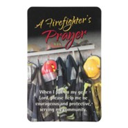 Firefighter's Prayer Pocket Card