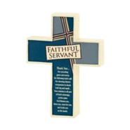 Faithful Servant Tabletop Cross