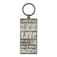 Names of Jesus Keyring