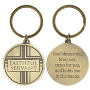 Faithful Servant Keyring