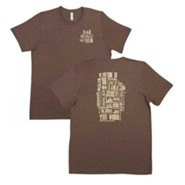 Names of Jesus Shirt, Brown, Small