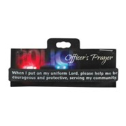 Police Officer's Prayer Silicone Bracelet