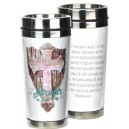 Put on the Full Armor of God Stainless Steel Travel Mug