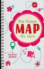 Prayer Map for Girls: A Creative Journal