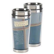Faithful Servant Stainless Steel Travel Mug