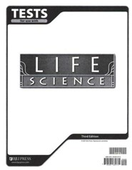 BJU Press Life Science Grade 7, Tests (Third Edition)