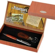 A Fisherman's Prayer Pen and Keyring Gift Set