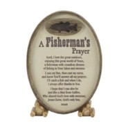 A Fisherman's Prayer Tabletop Plaque