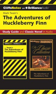 The Adventures of Huckleberry Finn CliffsNotes Collection - unabridged audiobook on CD  -     Narrated By: Nick Podehl     By: Robert Bruce Ph.D., Mark Twain