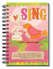 Sing, Spiral Bound Journal