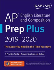 AP English Literature and  Composition Prep Plus 2019-2020