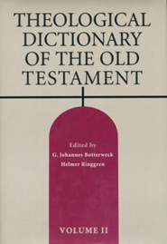 Theological Dictionary of the Old Testament, Volume 2